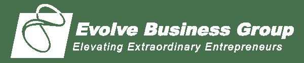 Evolve Business Logo White